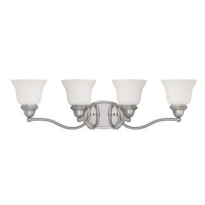 Thayne 4-Light Pewter Bath Vanity Light
