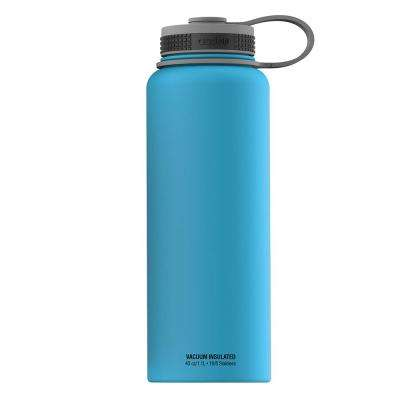 The Mighty Flask 16 oz. Blue Water Bottle