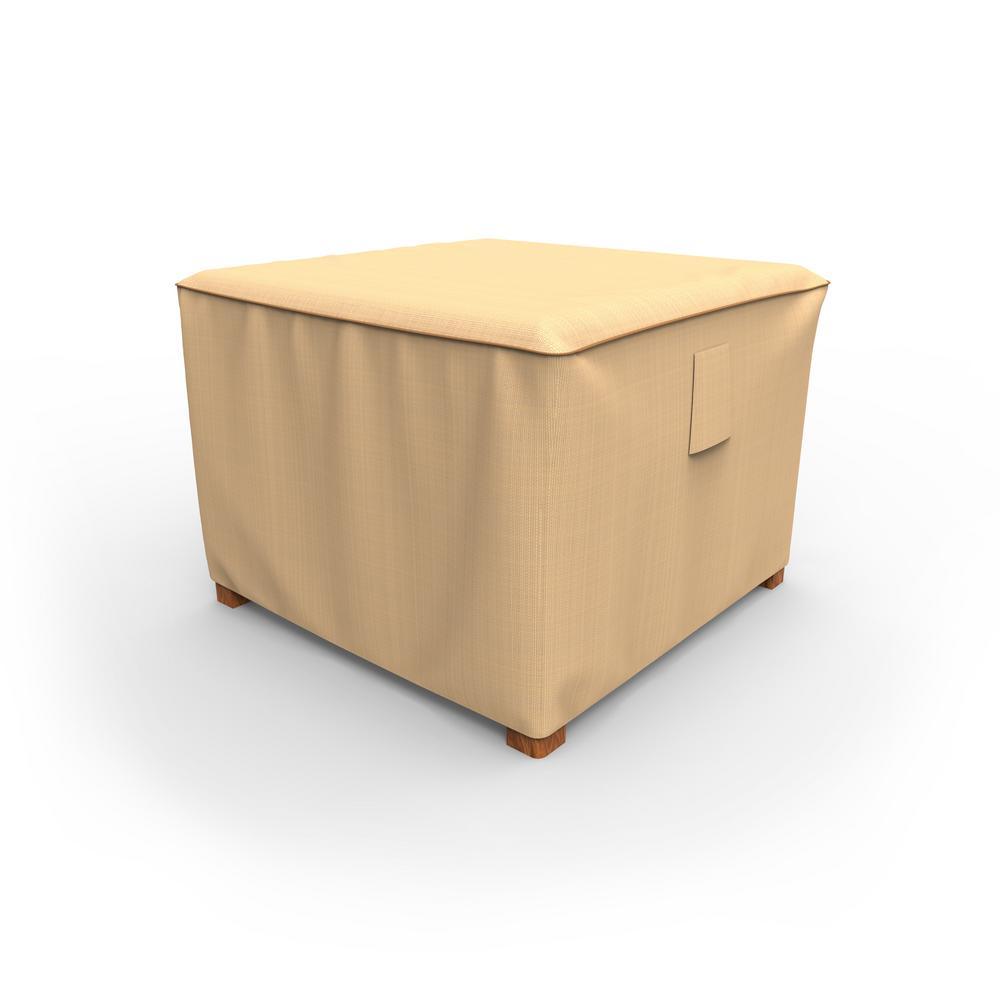 Rust-Oleum NeverWet Savanna Medium Tan Square Patio Table/Ottoman Cover