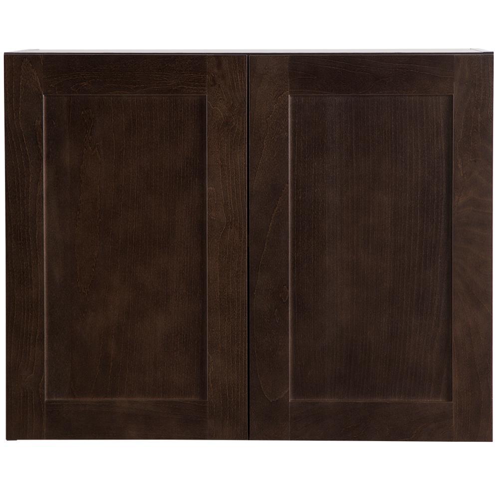 Cabinet Corp Dusk Kitchen: Hampton Bay Cambridge Assembled 30x24x15.6 In. Wall