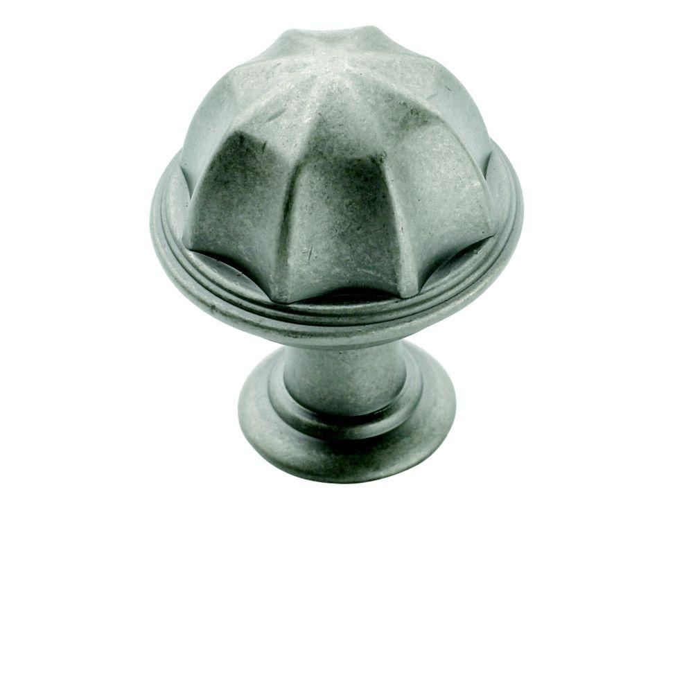 Weathered Nickel Cabinet Knob