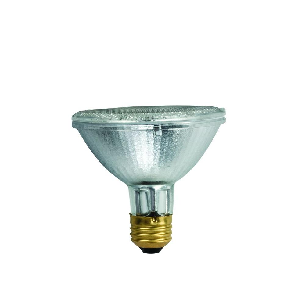 50-Watt Equivalent PAR30S Halogen Soft White (2700K) Flood Light Bulb