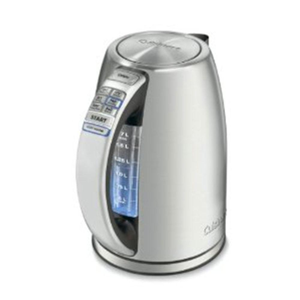 Cuisinart Perfect Temp 7 Cup Silver Cordless Electric Kettle-CPK-17P1 - The Home Depot