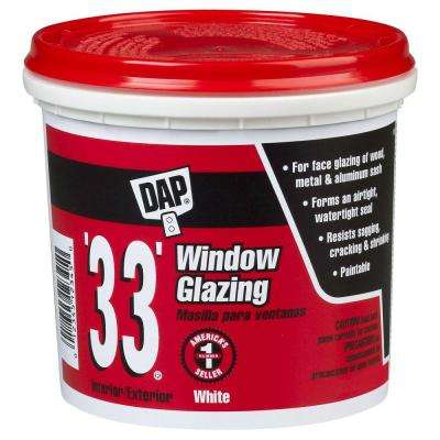 33 1 gal. White Ready-to-Use Window Glazing (2-Pack)