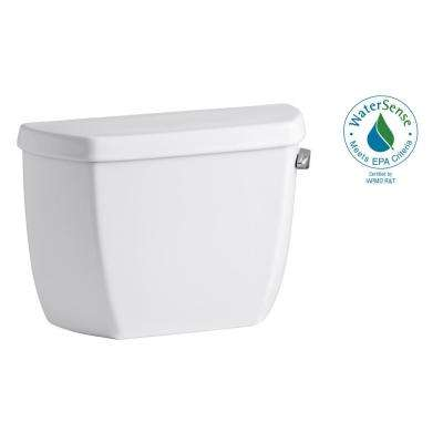 Wellworth Classic 1.0 GPF Single Flush Toilet Tank Only in White