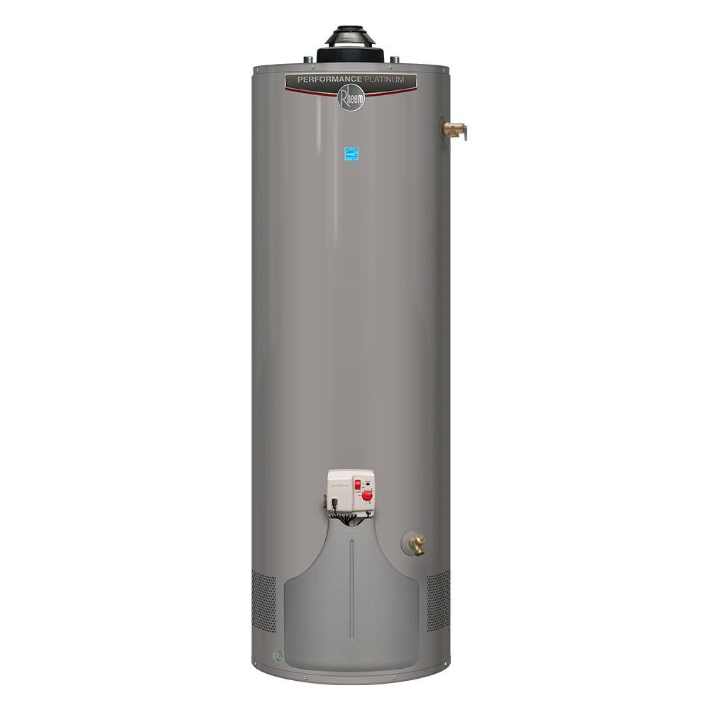 Rheem performance plus 40 gal short 9 year 38 000 btu Natural gas water heater