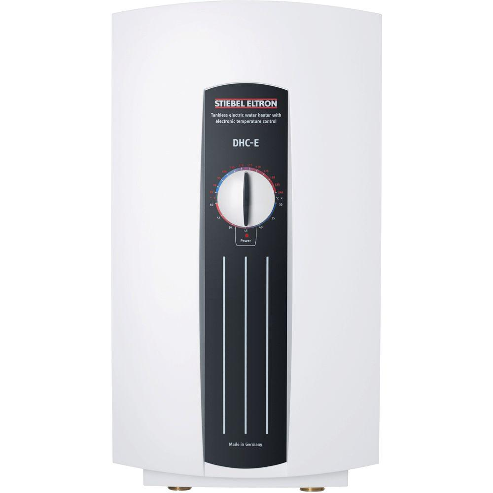Stiebel Eltron DHC-E 12 12.0 kW 2.34 GPM Point-of-Use Tankless Electric Water Heater