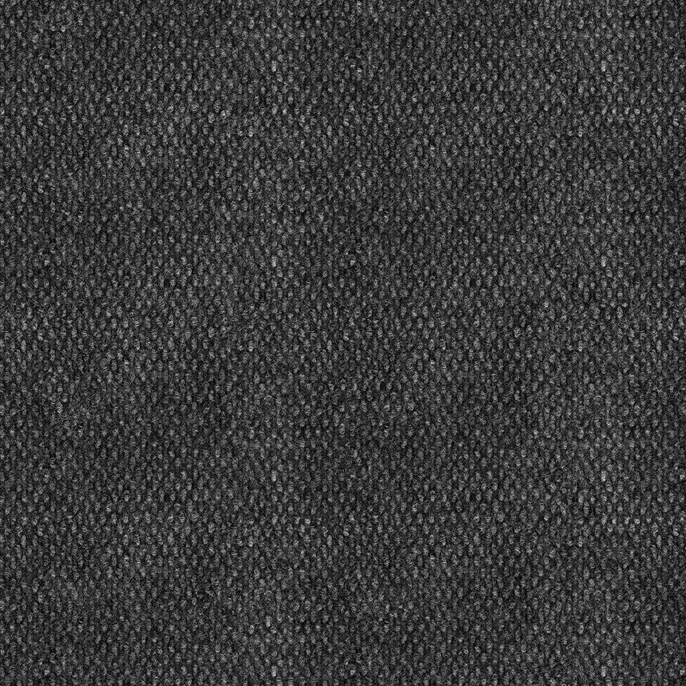 TrafficMASTER Stupendous Black Ice Texture 18 In X Carpet Tile 16