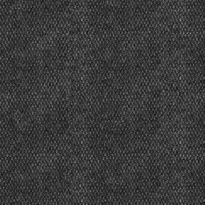 Premium Self-Stick Stupendous Black Ice Texture 18 in. x 18 in. Carpet Tile (16 Tiles/Case)