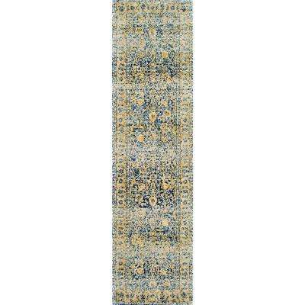 Vintage Leena Multi 2 ft. x 8 ft. Runner Rug