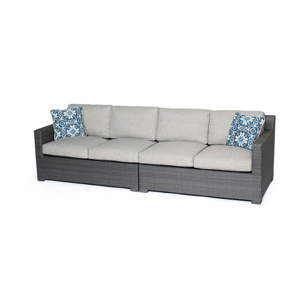 cushion patio at shop living resin oakland wicker loveseat com coffee pd lowes