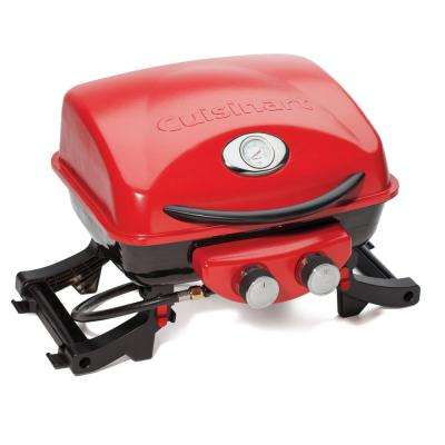 Dual Blaze Two Burner Portable Propane Gas Grill