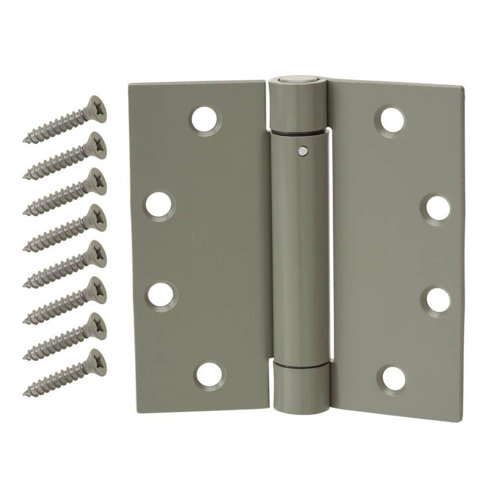 Door Hinges Product : Everbilt in oil rubbed bronze double action