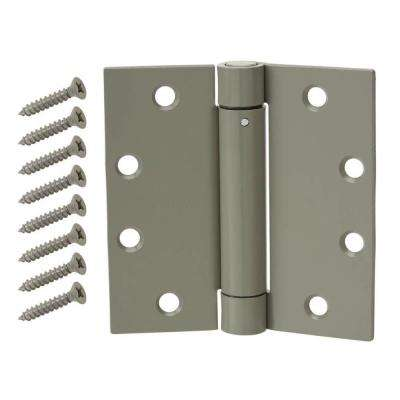 Charmant Prime Coated Adjustable Spring Door Hinge