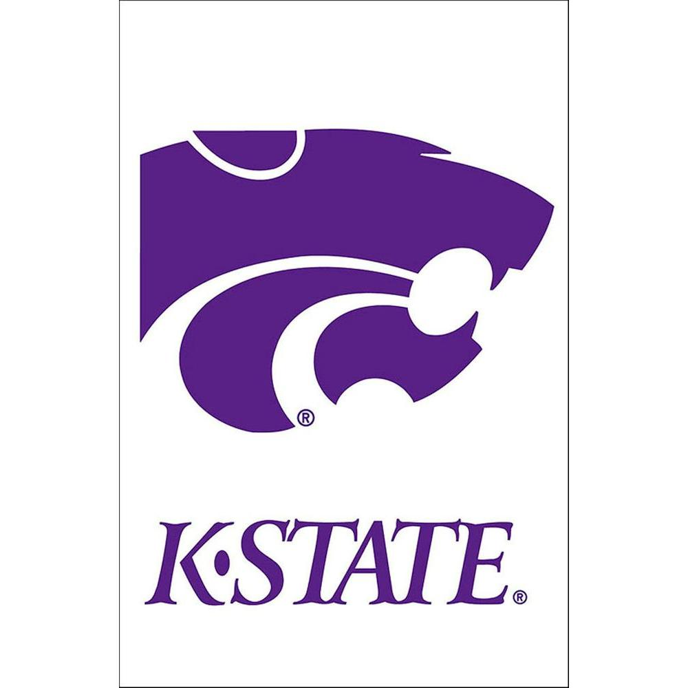Evergreen Enterprises 12.5 in. x 18 in. Kansas State University Garden Flag