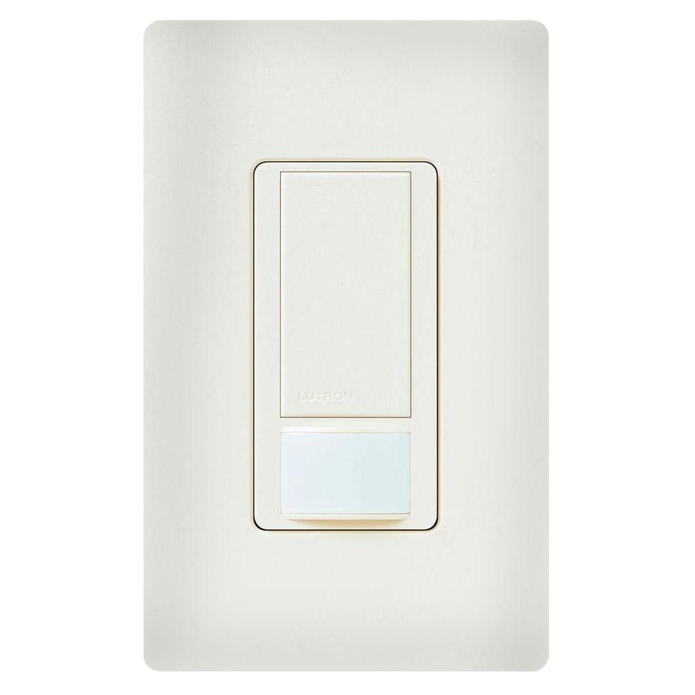 Maestro Dual Voltage Motion Sensor switch, 6-Amp, Single-Pole, Biscuit