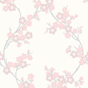 2 Graham Brown Soft Pink Cherry Blossom Wallpaper