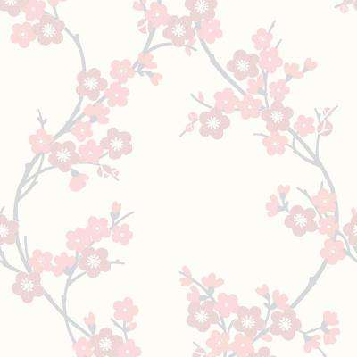 Soft Pink Cherry Blossom Wallpaper
