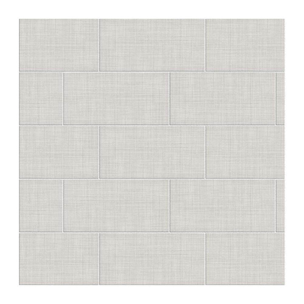 Meier Park Silver Strand 12 in. x 24 in. Glazed Ceramic Floor and Wall Tile (14.96 sq. ft. / case)