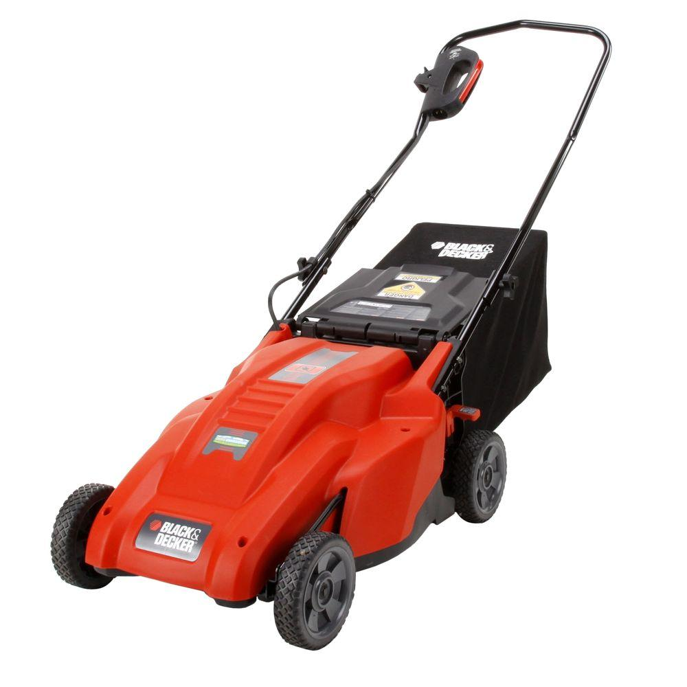 BLACK+DECKER 18 in. 12 Amp Corded Electric Lawn Mower