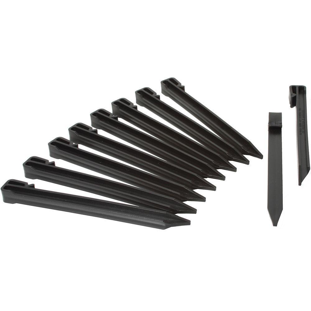 Terrace Board Stakes in Black (20-Pack)