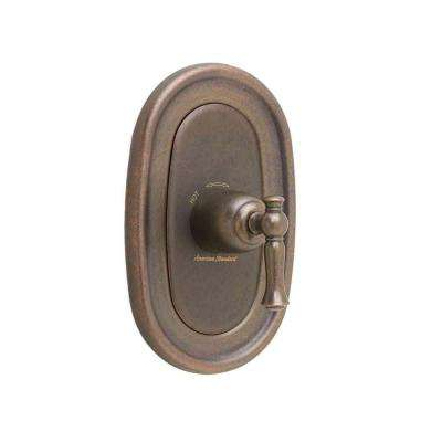 Quentin 1-Handle Central Thermostat Valve Trim Kit in Oil Rubbed Bronze (Valve Sold Separately)