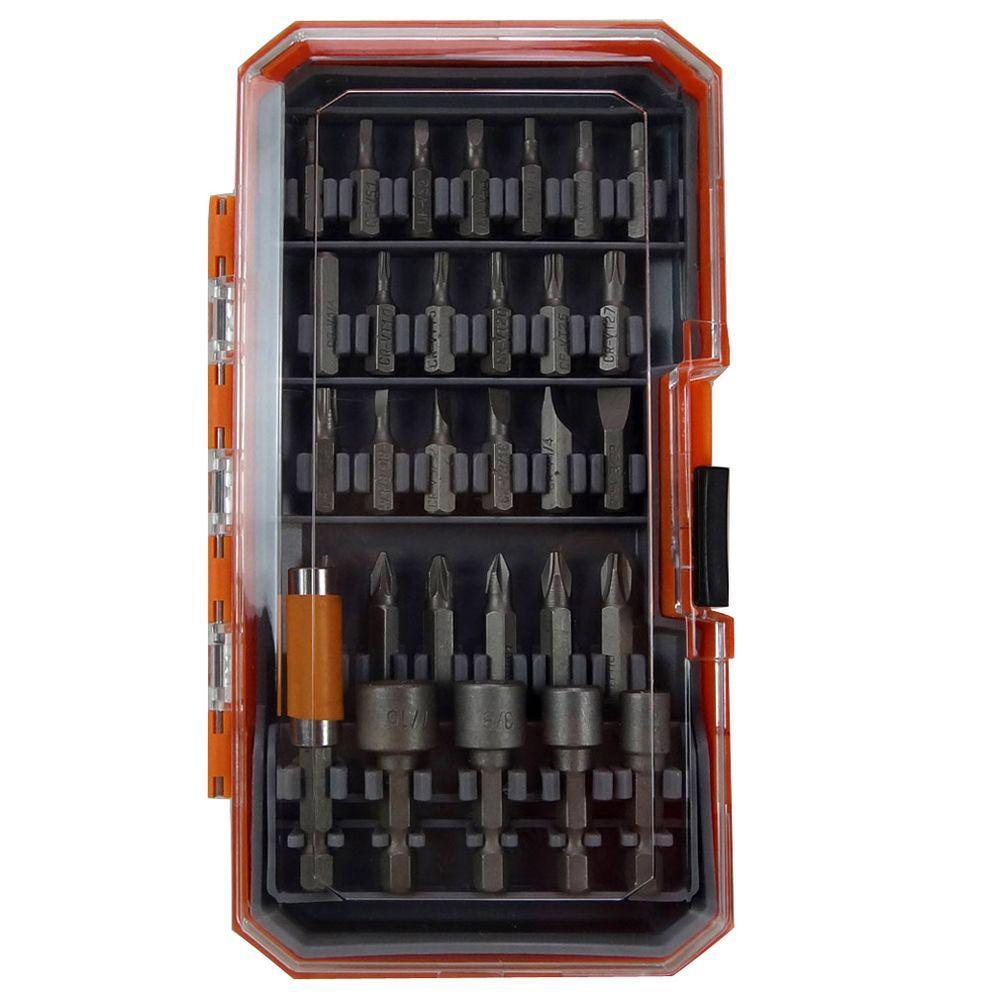 HDX Screwdriver Bit & Nut Socket Set (30-Piece)