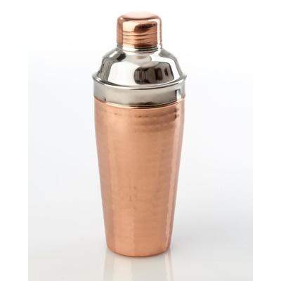 Hammered Cocktail Shaker, Shiny Copper