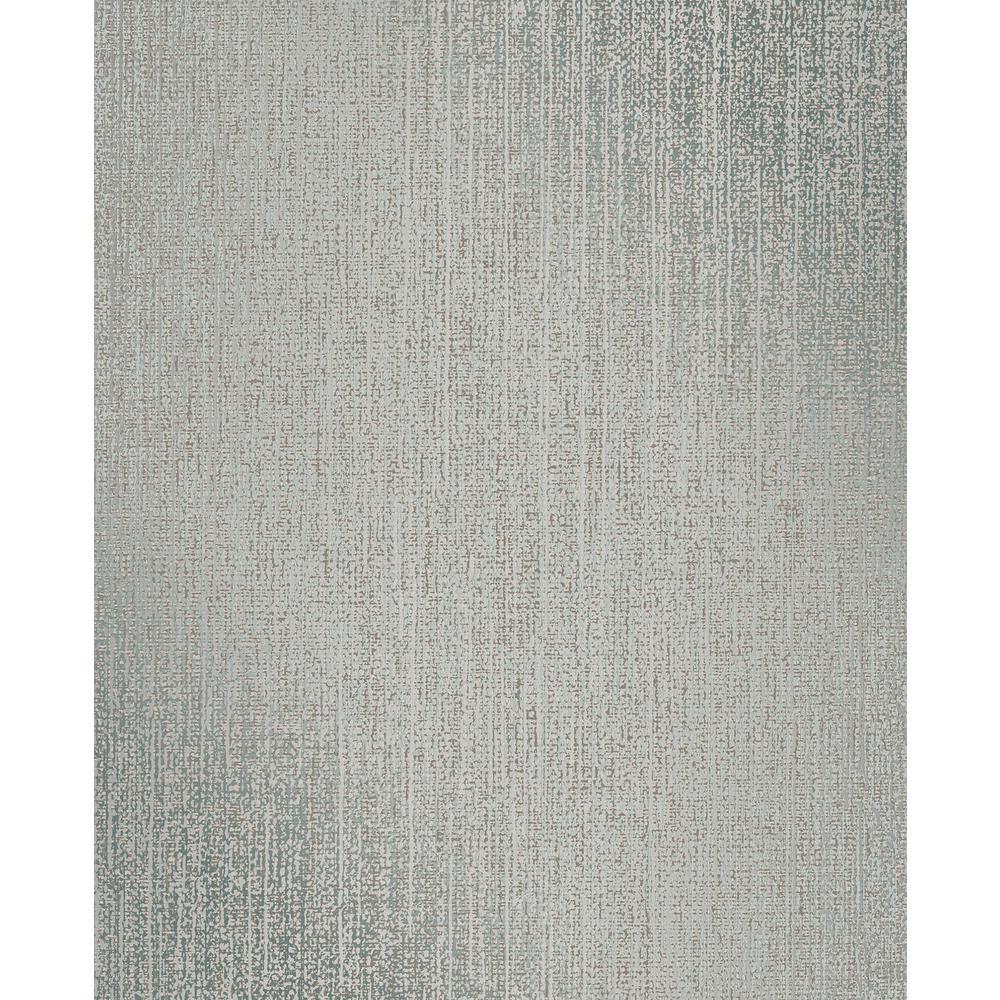 Lize Teal Weave Texture Wallpaper