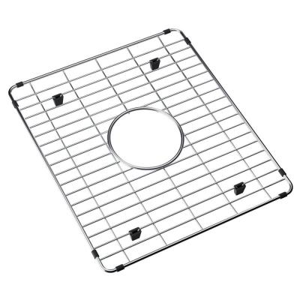 Fireclay Kitchen Sink Bottom Grid - Fits Bowl Size 16-3/4 in. x 14-9/16 in.