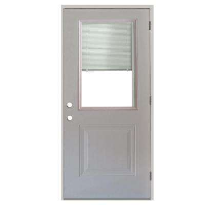New 30 X 80 Steel Entry Door