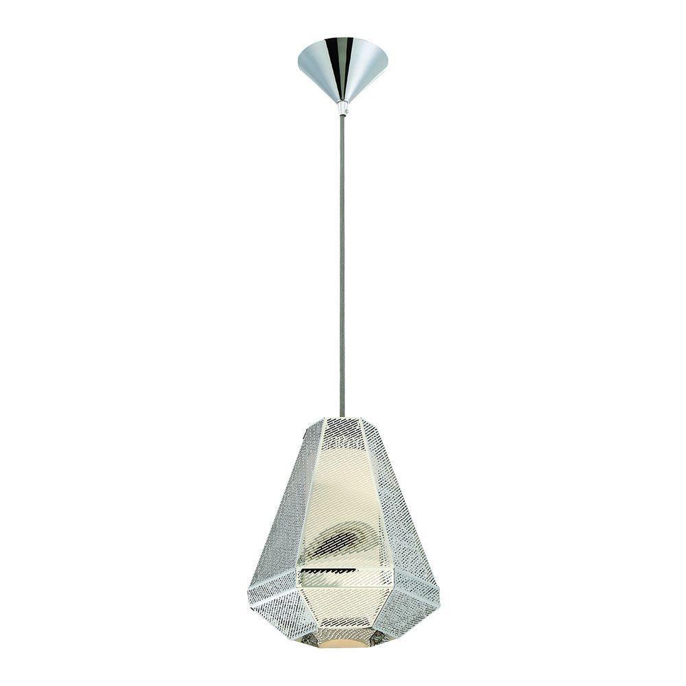 Recinto Collection 1-Light Medium Chrome Pendant