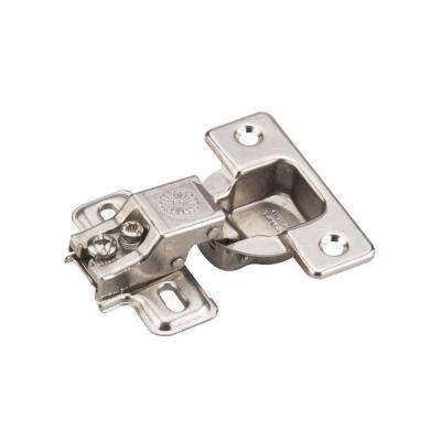 Onward Frame Clip-On 5/8 in. Overlay Euro Hinge (1-Pair)