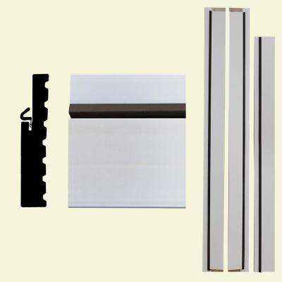 4Ever Frame 1-1/4 in. x 6-9/16 in. x 83 in. Primed Composite Patio Door Frame Kit
