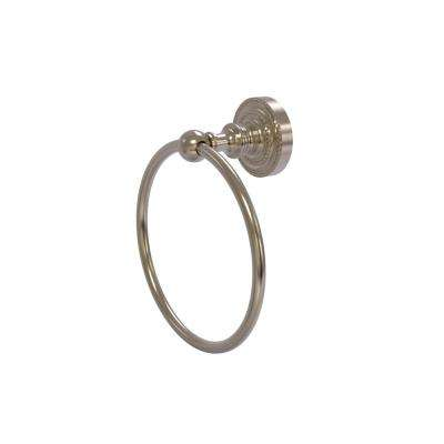 Dottingham Collection Towel Ring in Antique Pewter