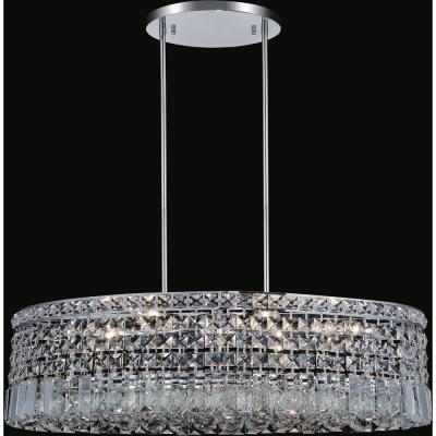Colosseum 8-light chrome chandelier