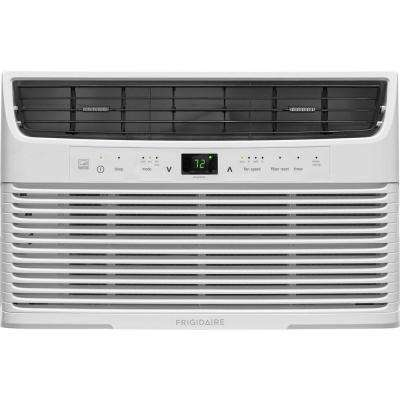 6,000 BTU 115-Volt Window-Mounted Mini-Compact Air Conditioner with Full-Function Remote Control in White