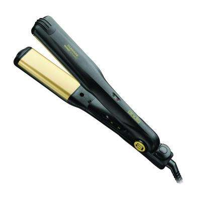 1.5 in. Curved Pro Flat Iron Hair Straightener