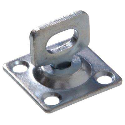 1-1/2 in. x 1-1/2 in. Swivel Staple Safety Hasps-Staple Only (5-Pack)