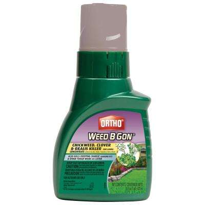 Weed B Gon 16 oz. Chickweed, Clover & Oxalis Killer for Lawns Concentrate
