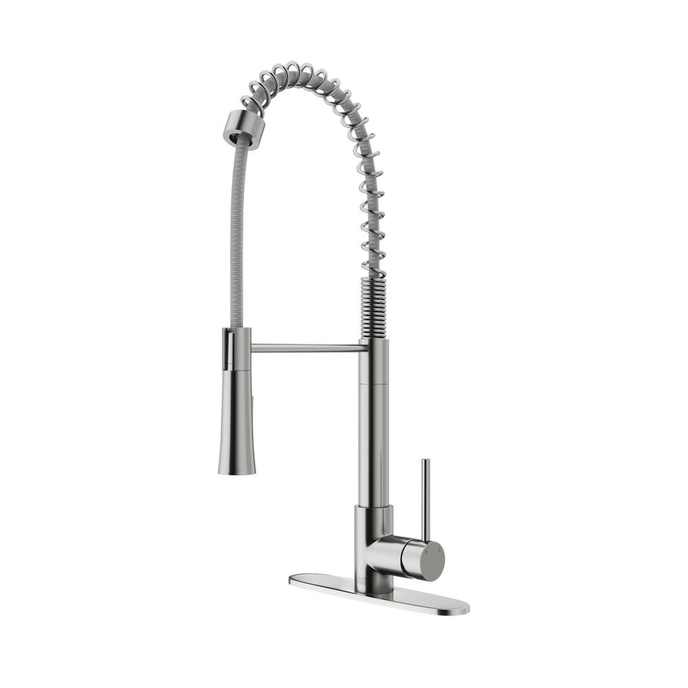 Vigo Stainless Steel Pull Down Faucet, Pull-Down Stainless