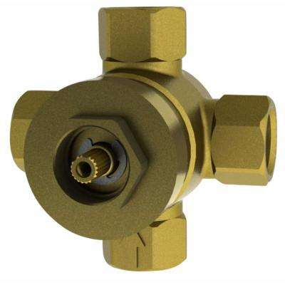 3-Way Diverter Shower/Tub Valve