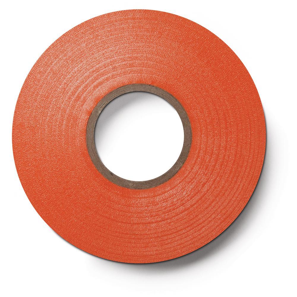 3M Scotch 3/4 in. x 66 ft. x 0.007 in. #35 Orange Electrical Tape