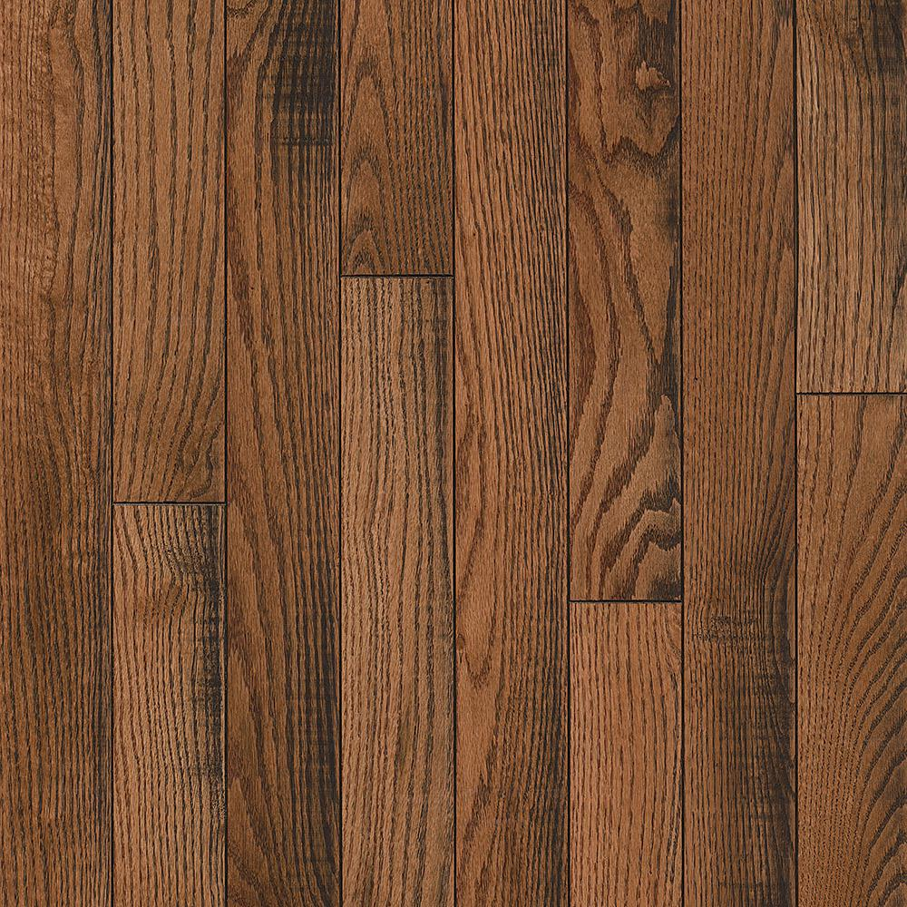 Bruce Revolutionary Rustics Oak Forest Colony 3/4 in. T x 3-1/4 in. W x Varying L Solid Hardwood Flooring (22 sq.ft./case)