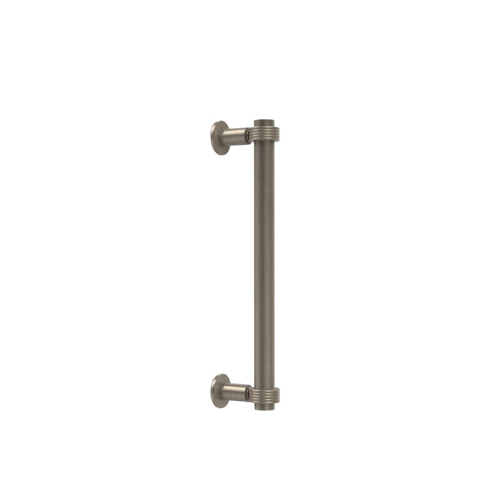 Matte Gray Allied Brass 405-12BB Contemporary 12 Inch Back Shower Door Pull