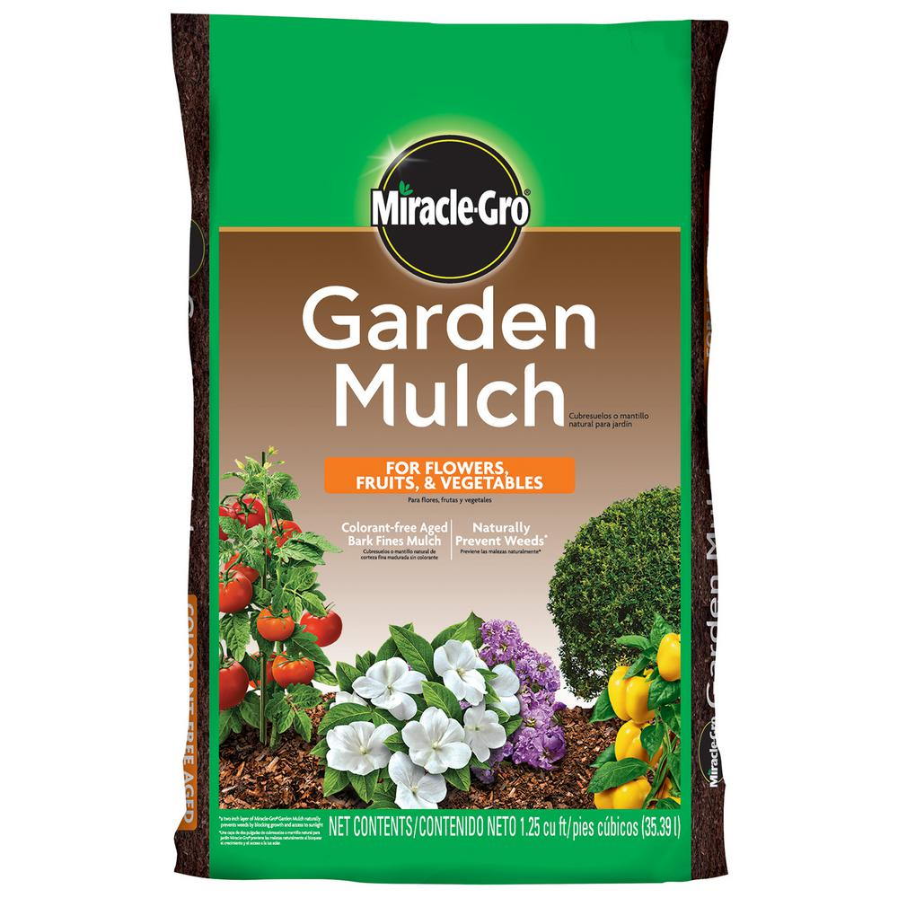 Scotts 1 25 Cu Ft Garden Mulch 88237430 The Home Depot