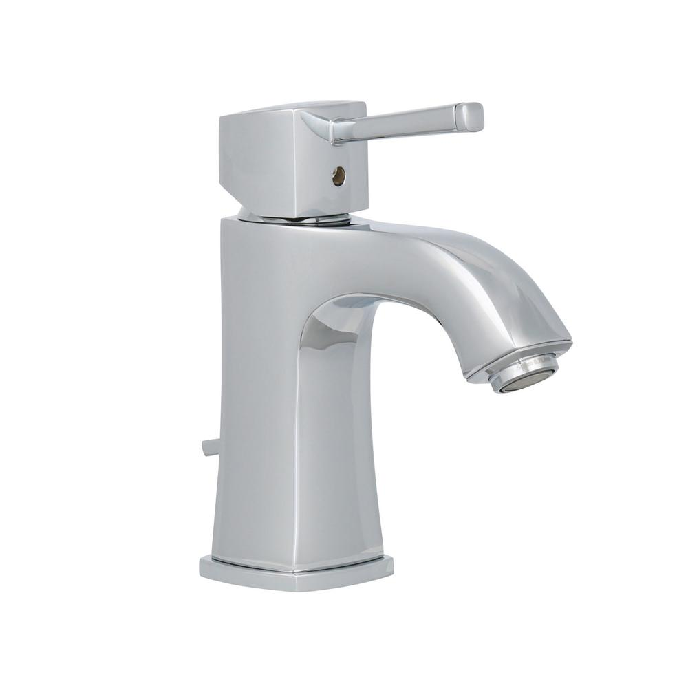 GROHE Grandera Deck-Mount 4 in. Centerset Single-Handle Low Arc Bathroom Faucet in StarLight Chrome