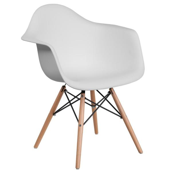 Carnegy Avenue White Side Chair CGA-FH-211499-WH-HD
