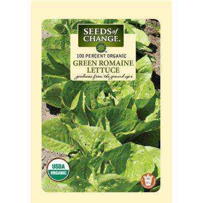 500 mg Green Romaine Lettuce Seeds
