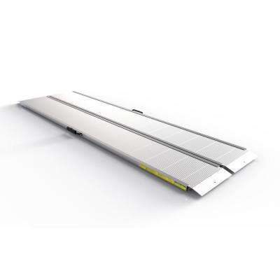 Traverse 8 ft. Aluminum Single Fold Edgeless Ramp